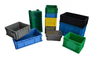 Plastic Containers & Pallets